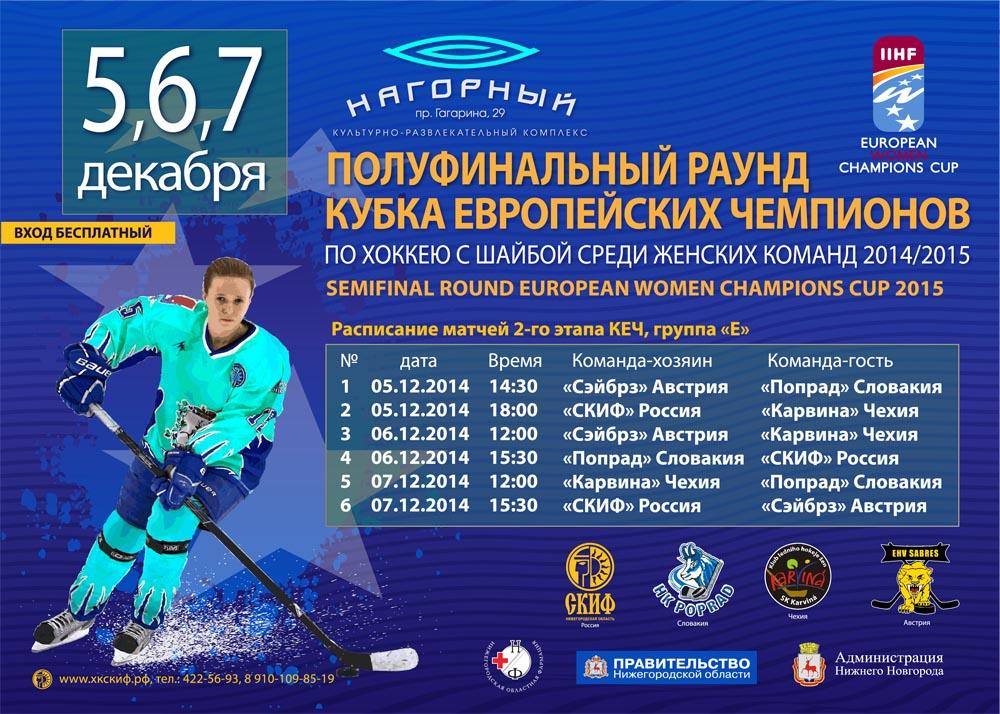 Стенд IIHF 1,4Х1м